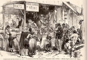 Alimentation de Paris pendant le siège
