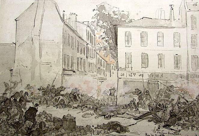 28 mai 1871, dernière barricade de la semaine sanglante