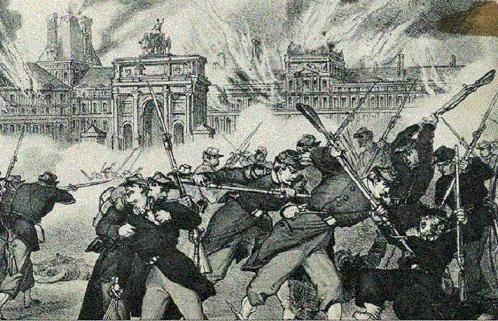 Semaine sanglante, incendie des Tuileries