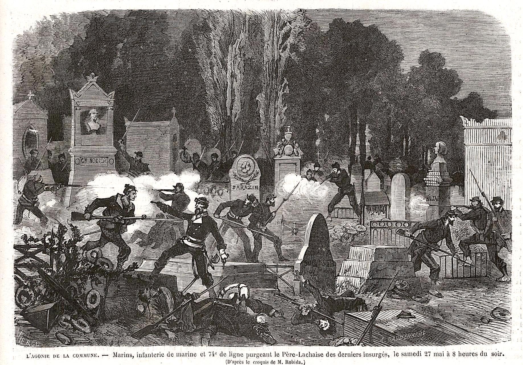 Au Père Lachaise le 27 mai 1871