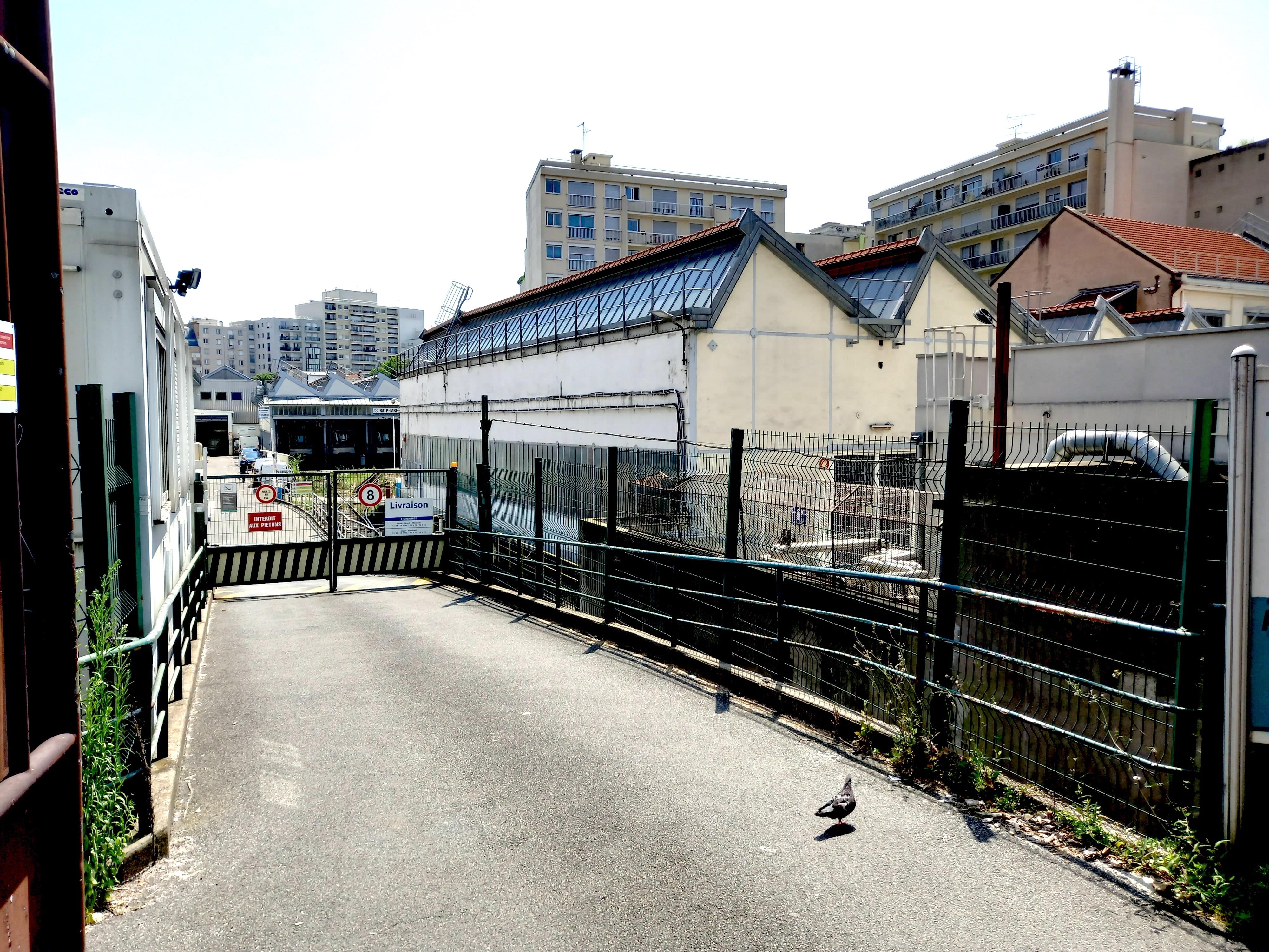 l'atelier RATP dans le 20e arrondissement